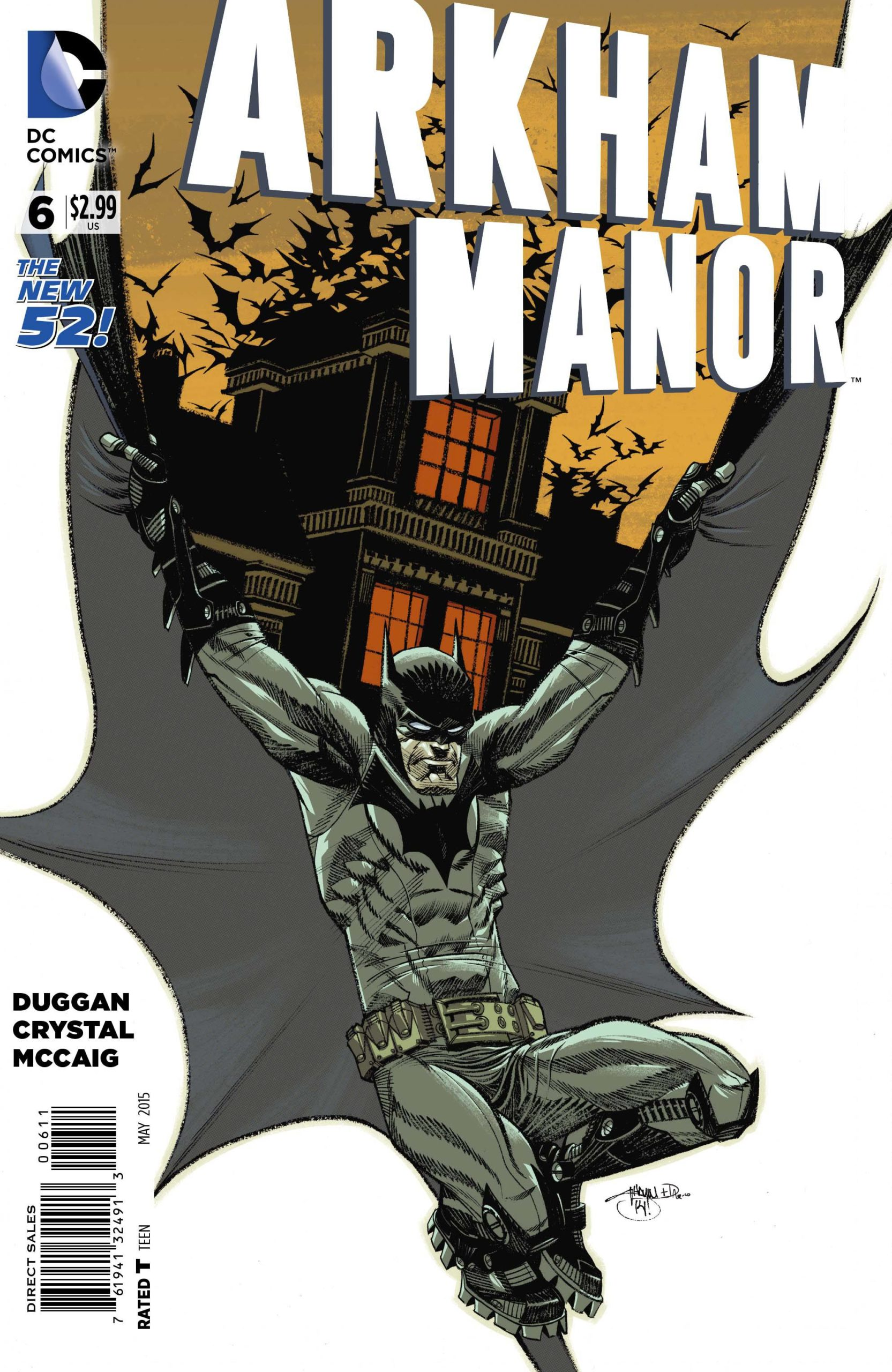 ARKHAM MANOR (MS 6)