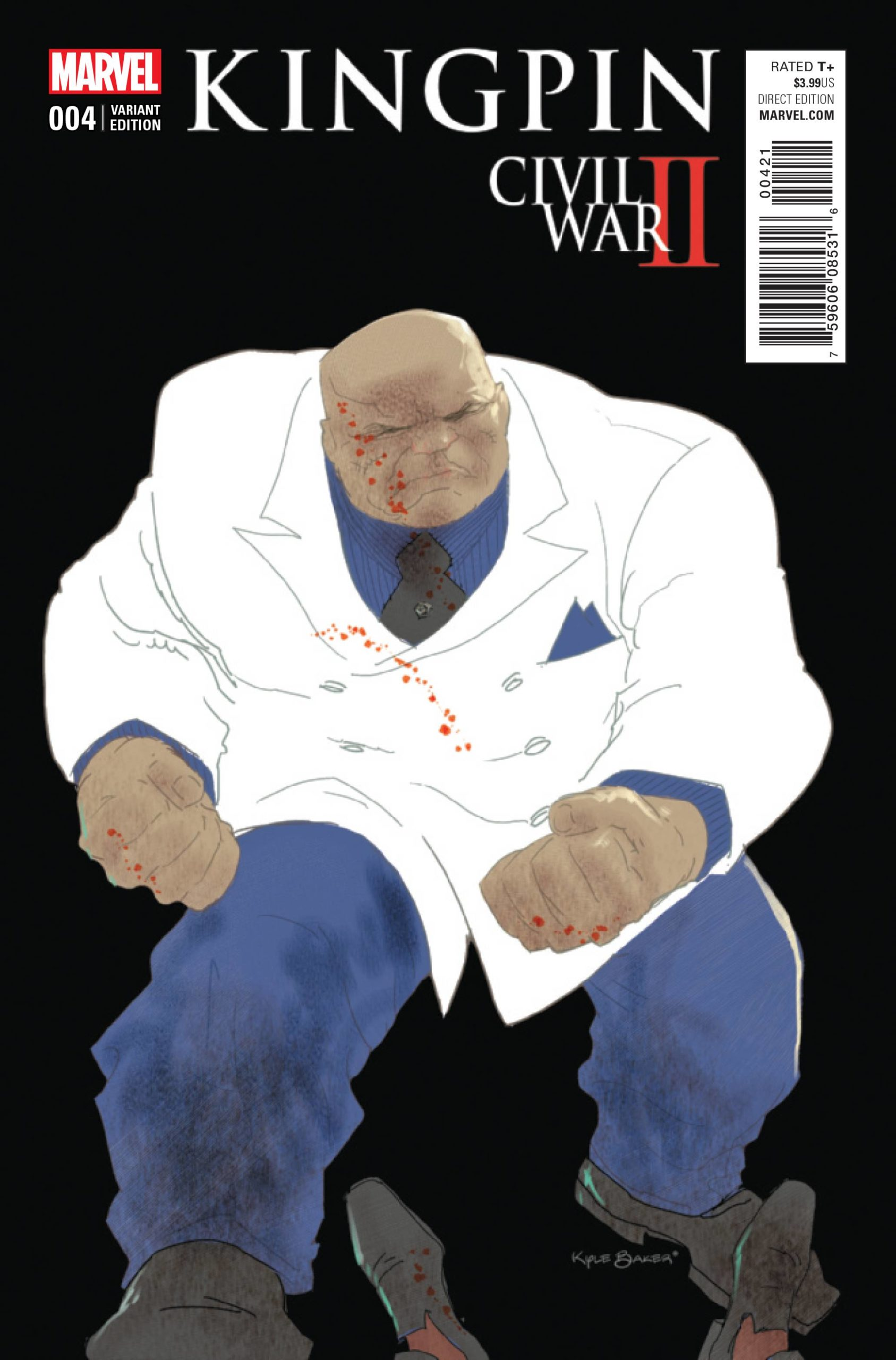 CIVIL WAR II KINGPIN  (MS 4)