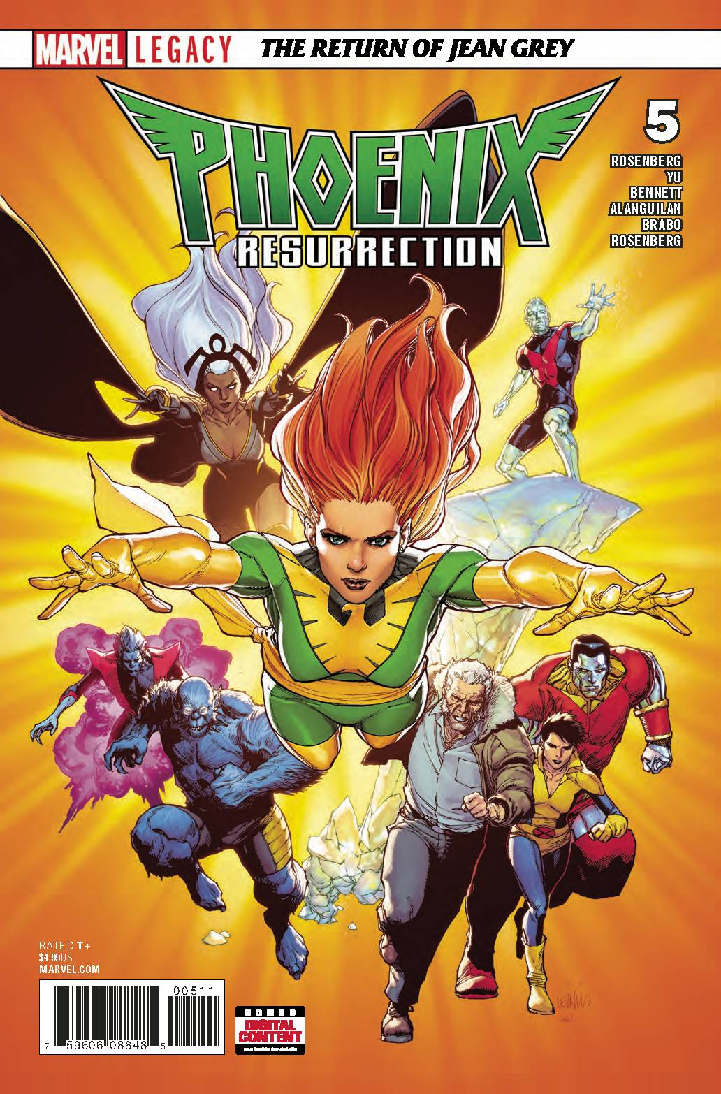 PHOENIX RESURRECTION RETURN JEAN GREY  (MS 5)