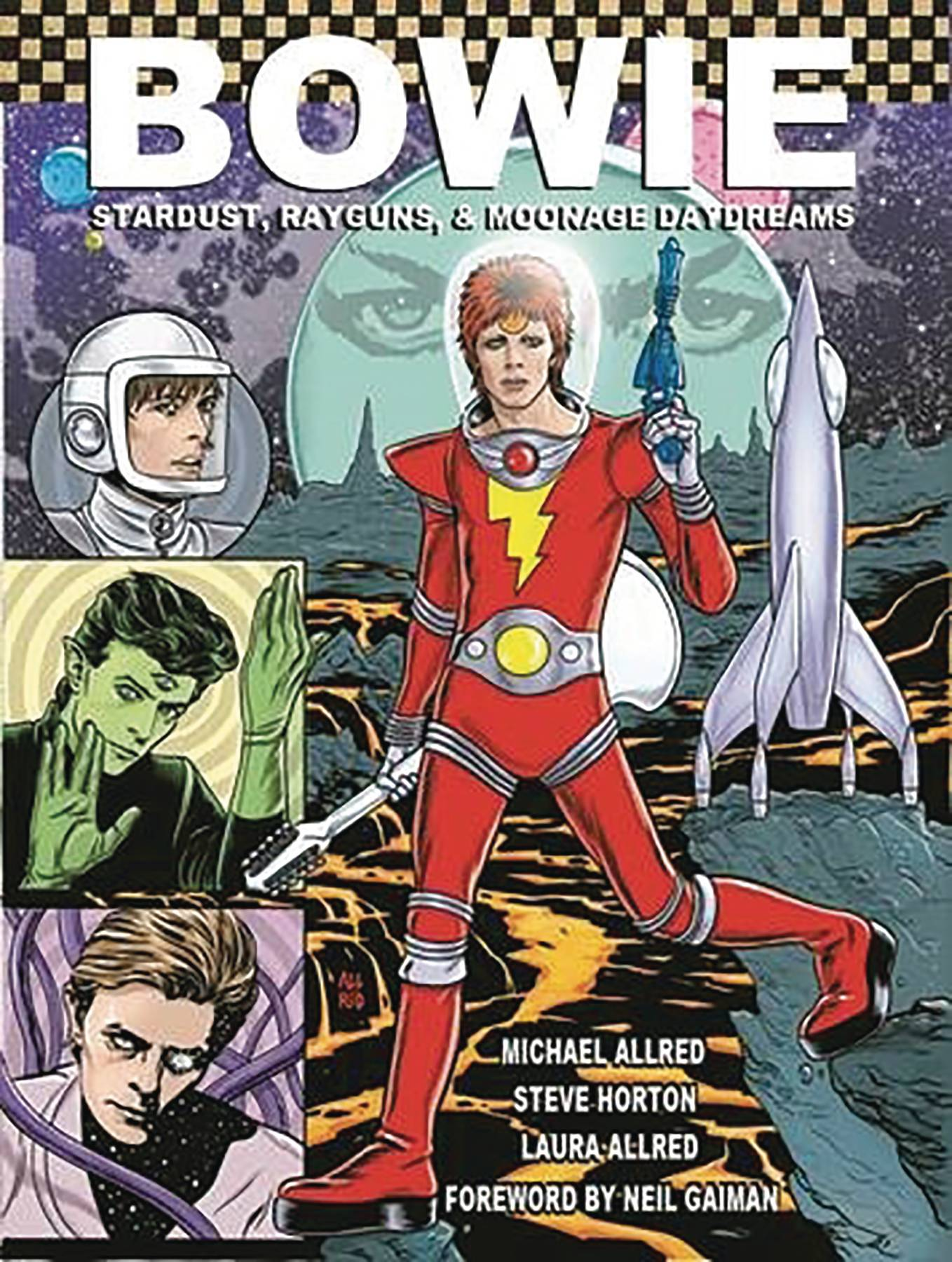 BOWIE STARDUST RAYGUNS & MOONAGE DAYDREAMS HC