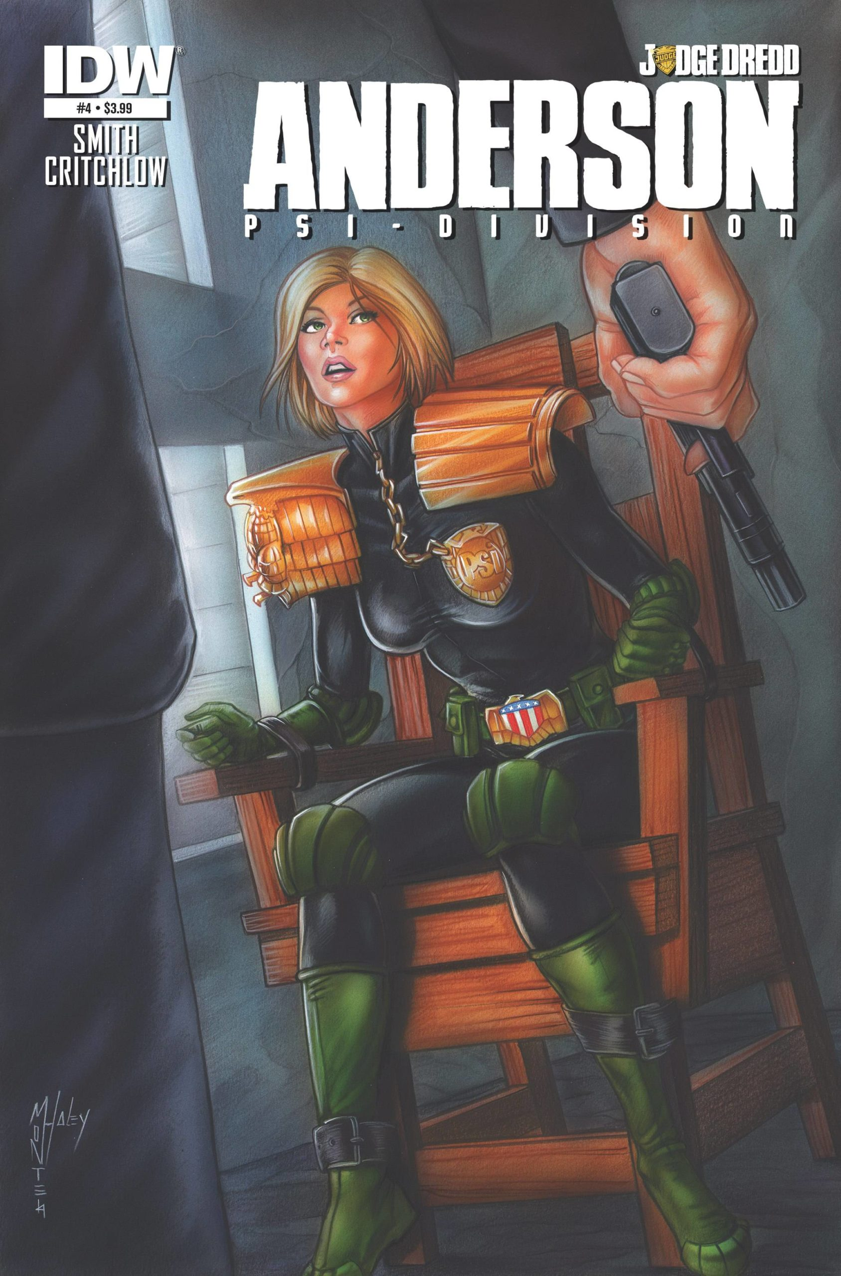 JUDGE DREDD ANDERSON PSI DIVISION