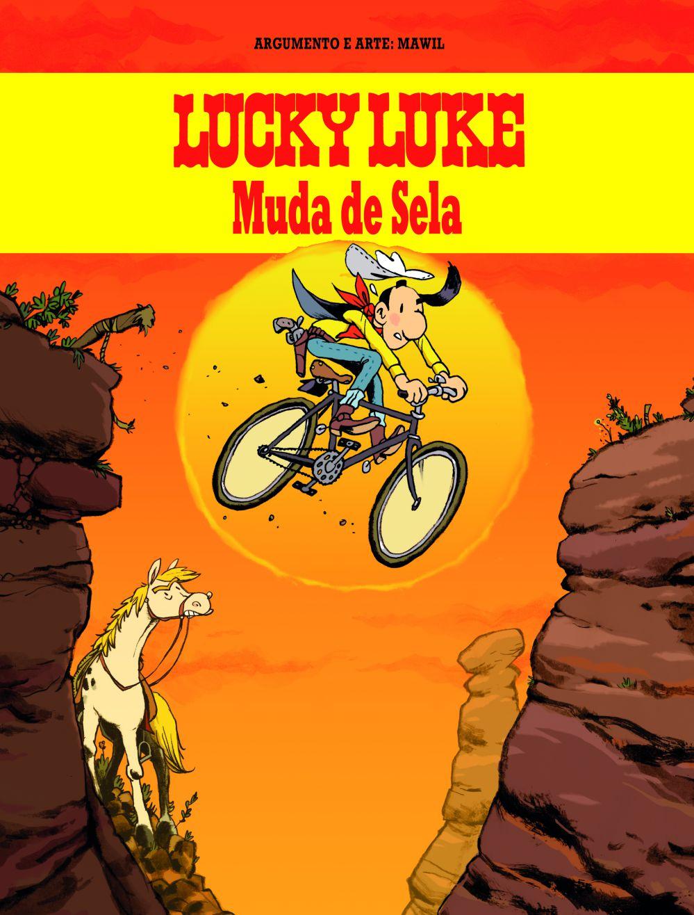 LUCKY LUKE MUDA DE SELA
