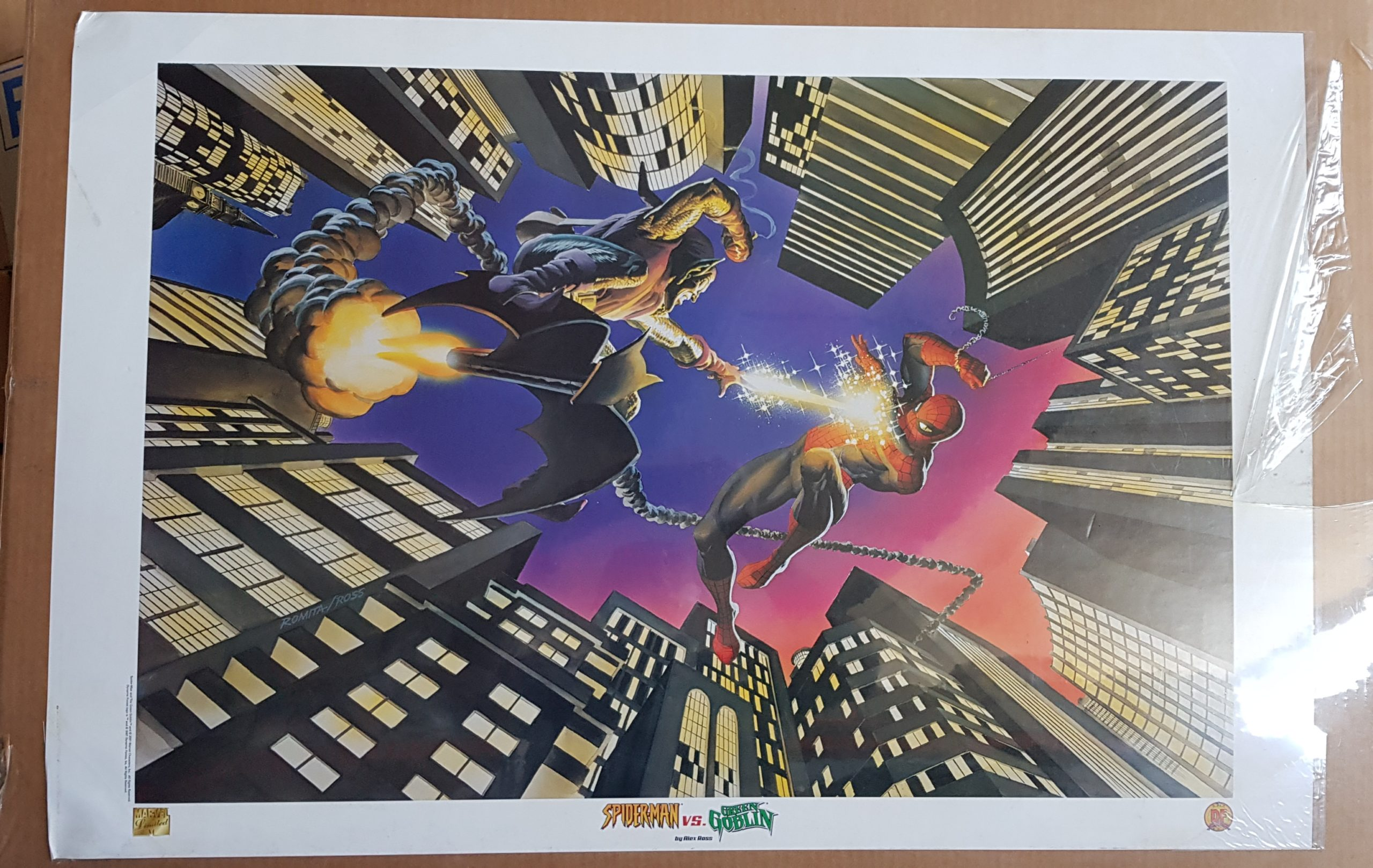 SPIDERMAN/GREEN GOBLIN POSTER