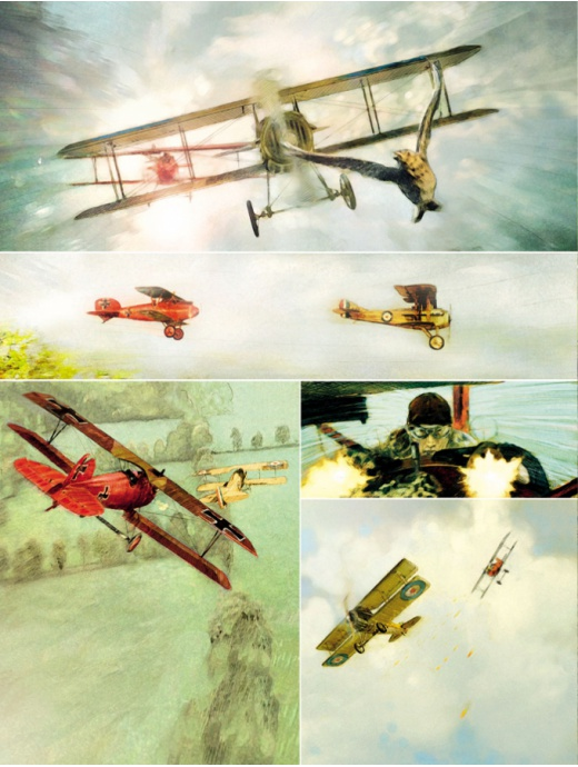 RED BARON 1 – THE MACHINE GUNNERS' BALL