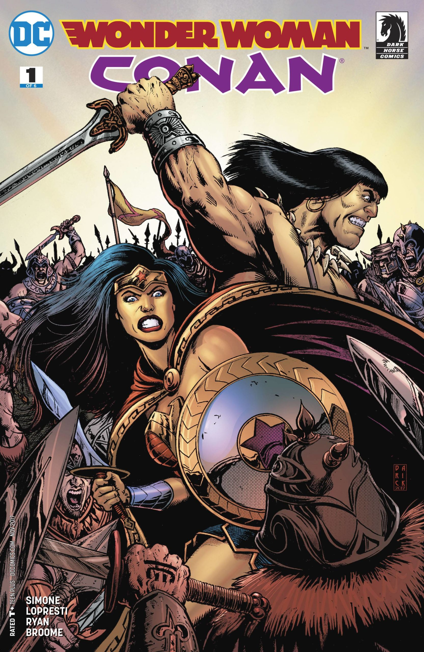 WONDER WOMAN CONAN (MS 6)