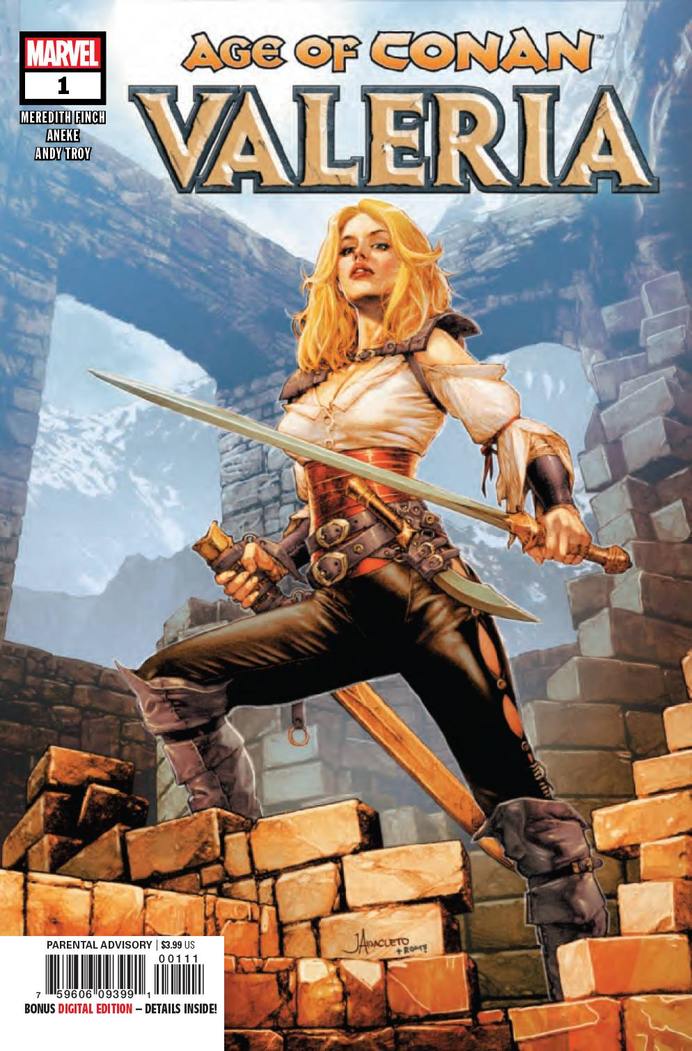 AGE OF CONAN: VALERIA (MS 5)