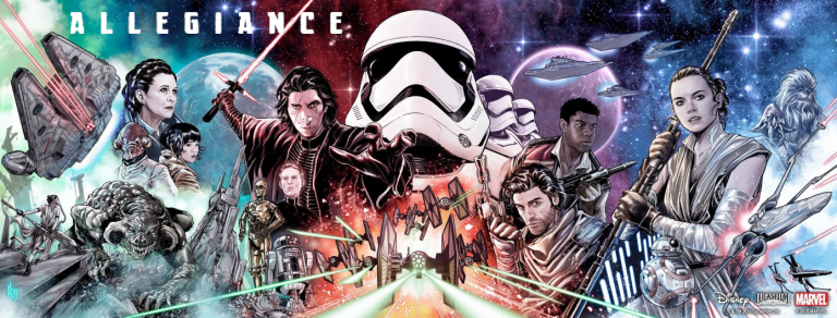 JOURNEY TO STAR WARS: RISE SKYWALKER – ALLEGIANCE (MS 4)