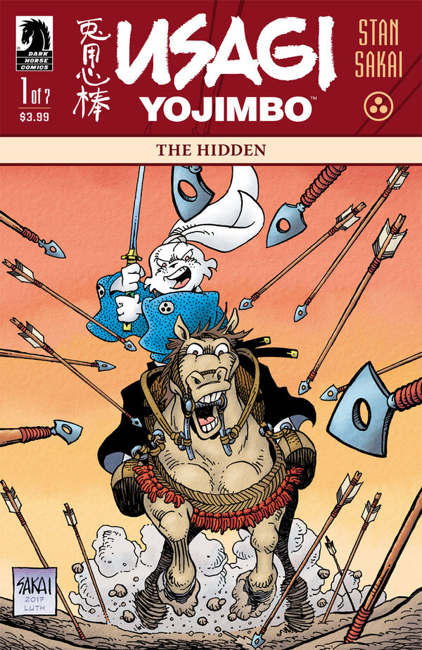 Usagi Yojimbo: The Hidden (MS 7)