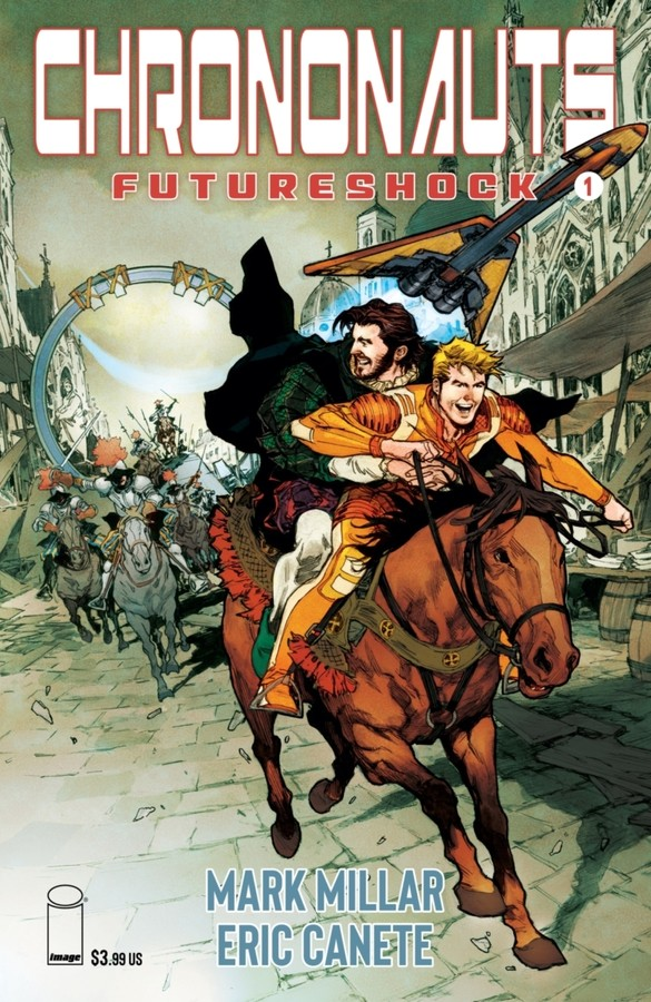 CHRONONAUTS: FUTURESHOCK  (MS 4)