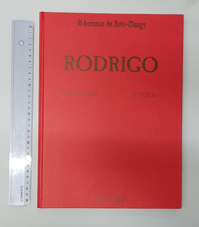 A Herança de Bois-Maury: RODRIGO edição especial limitada a 100 exemplares