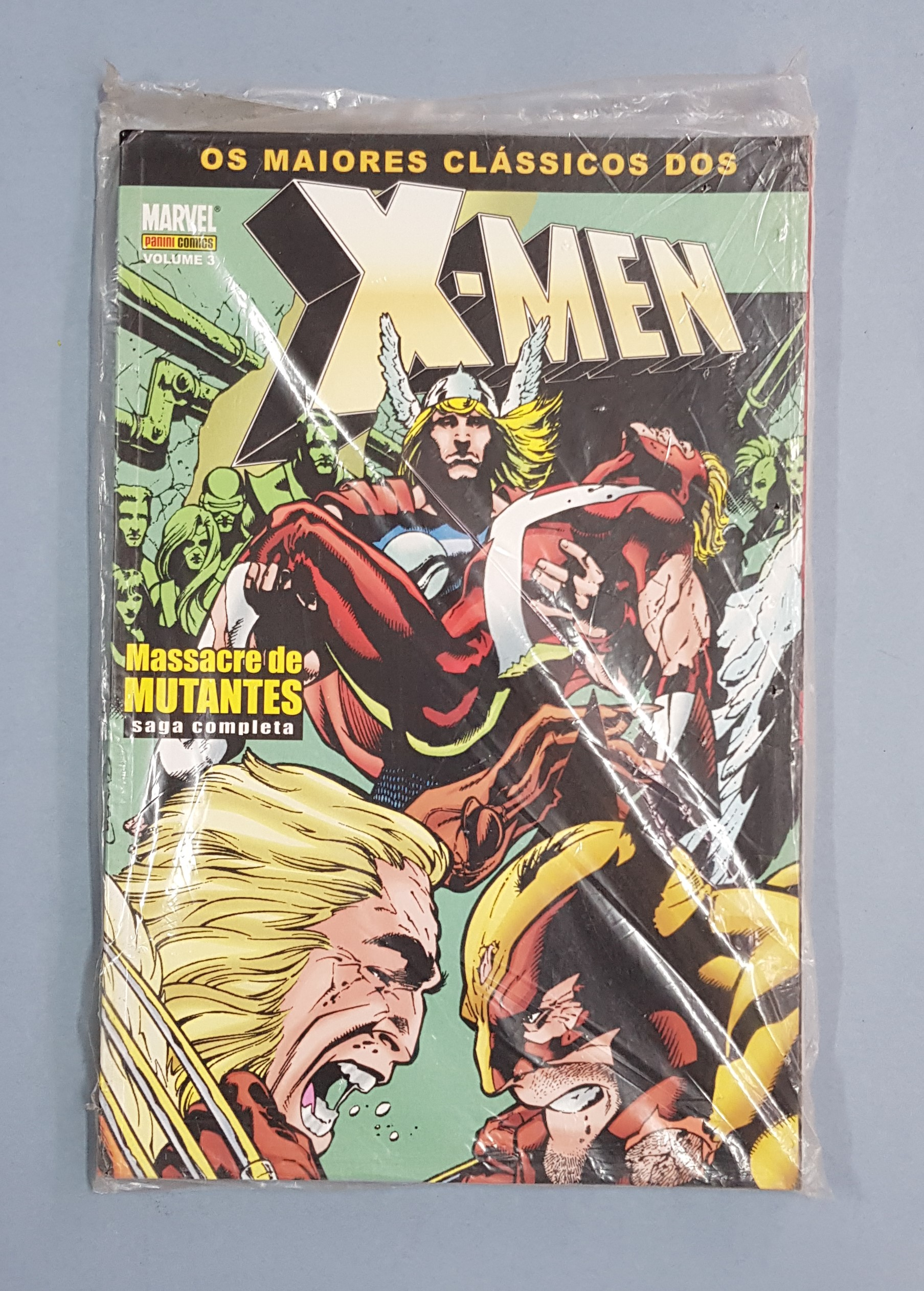 X-MEN VOLUME 3: MASSACRE DOS MUTANTES