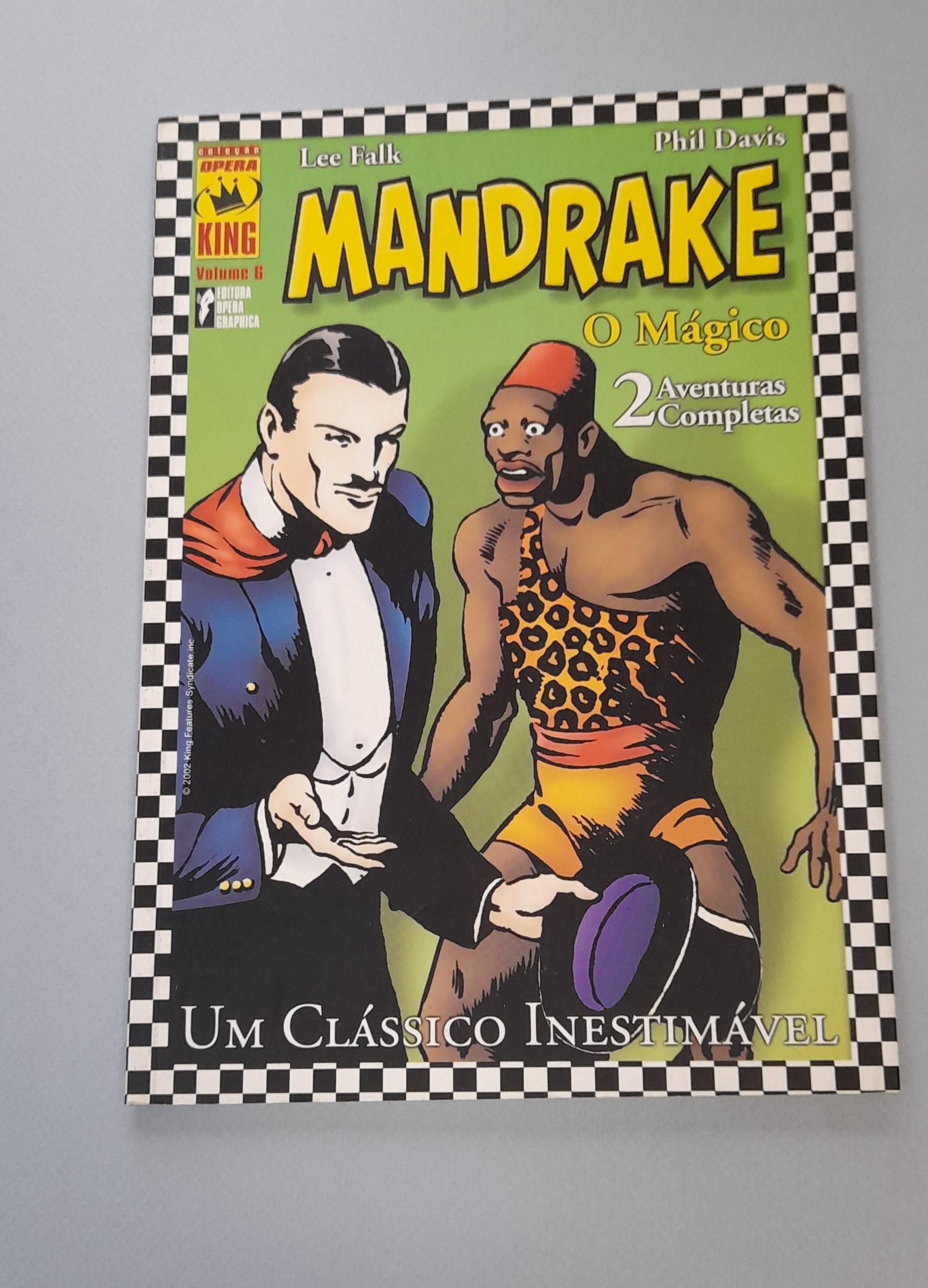 COLECÇÃO ÓPERA KING: MANDRAKE