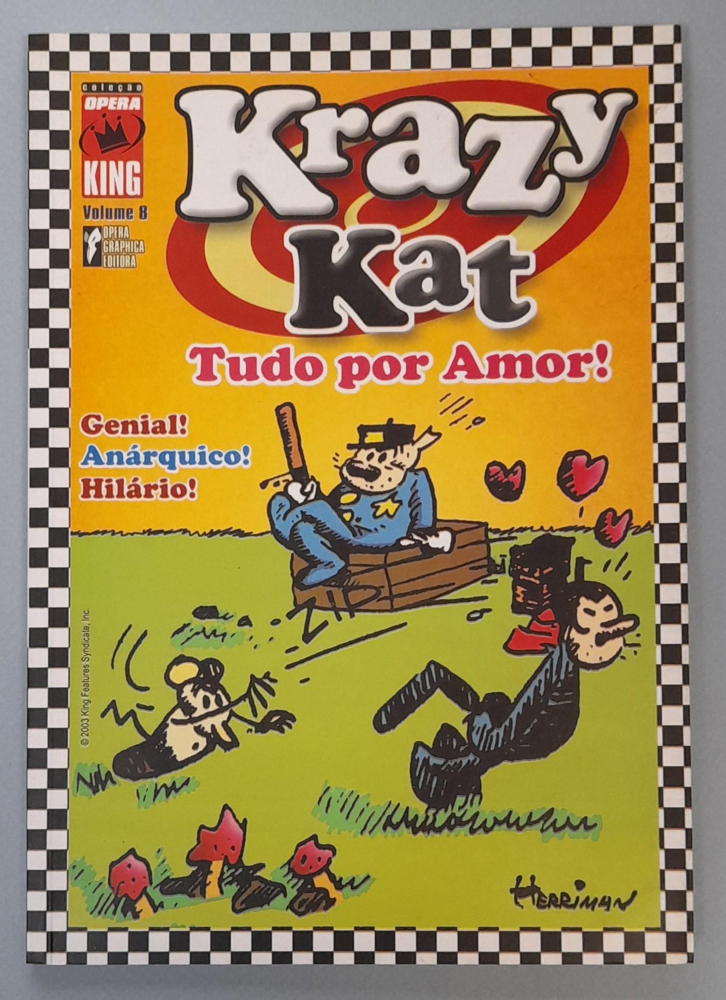 COLECÇÃO ÓPERA KING: KRAZY KAT