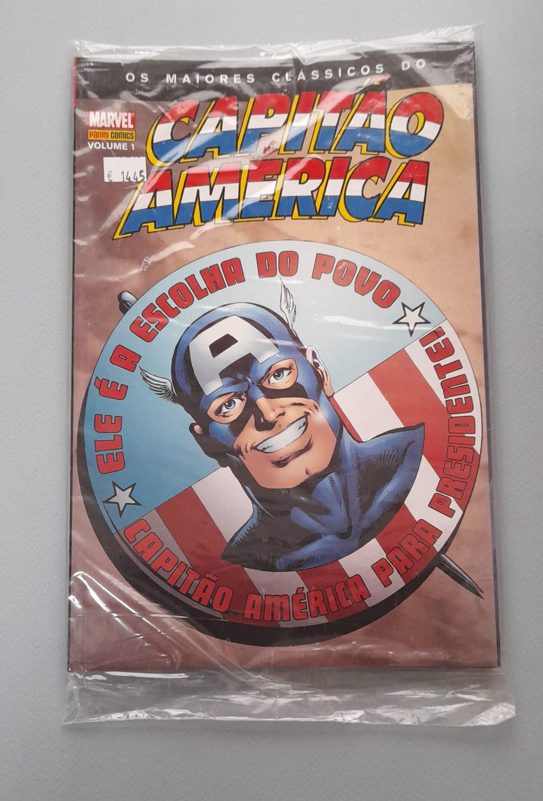 Os Maiores Clássicos do Capitão América