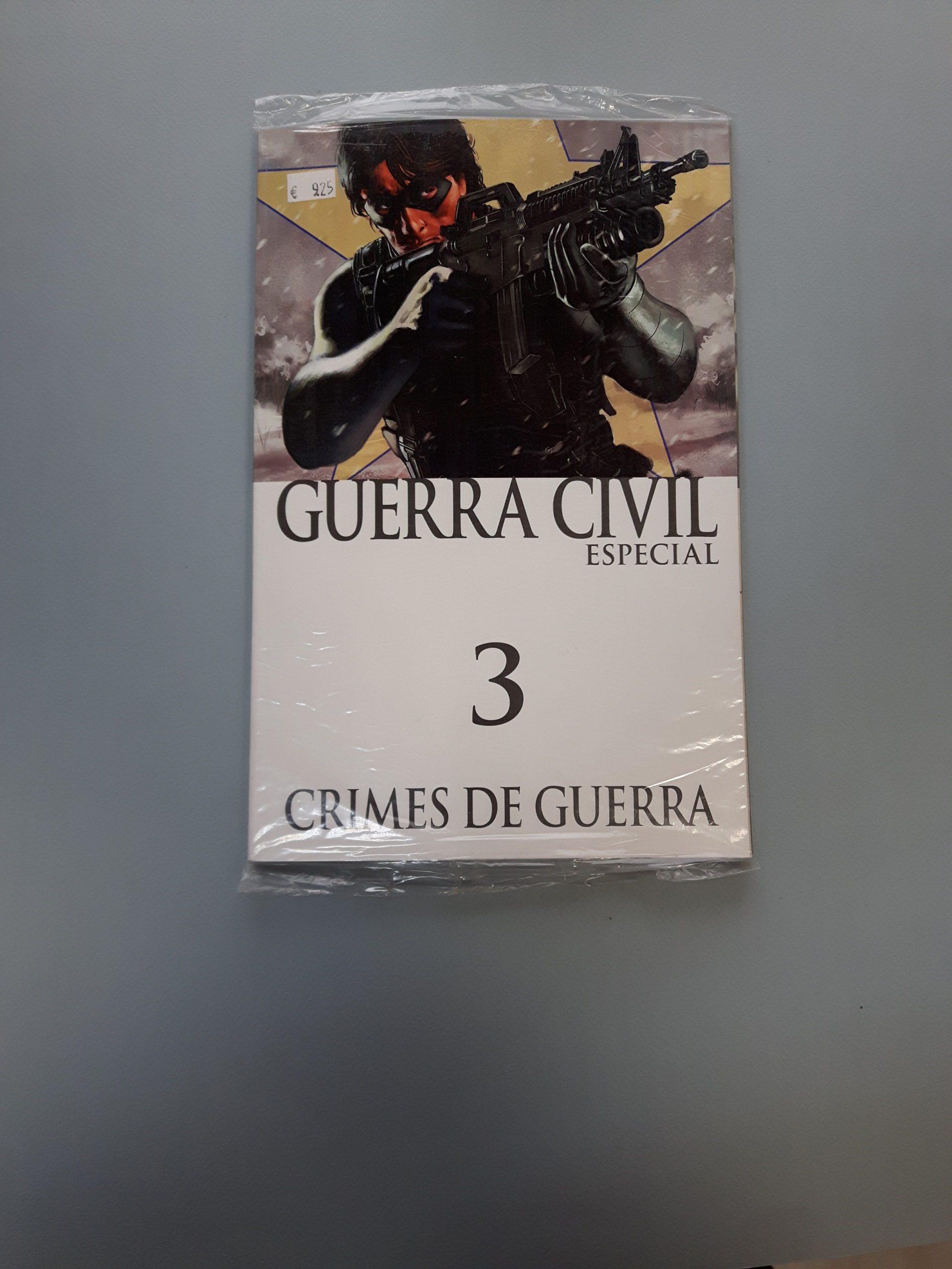 GUERRA CIVIL ESPECIAL #3: CRIMES DE GUERRA