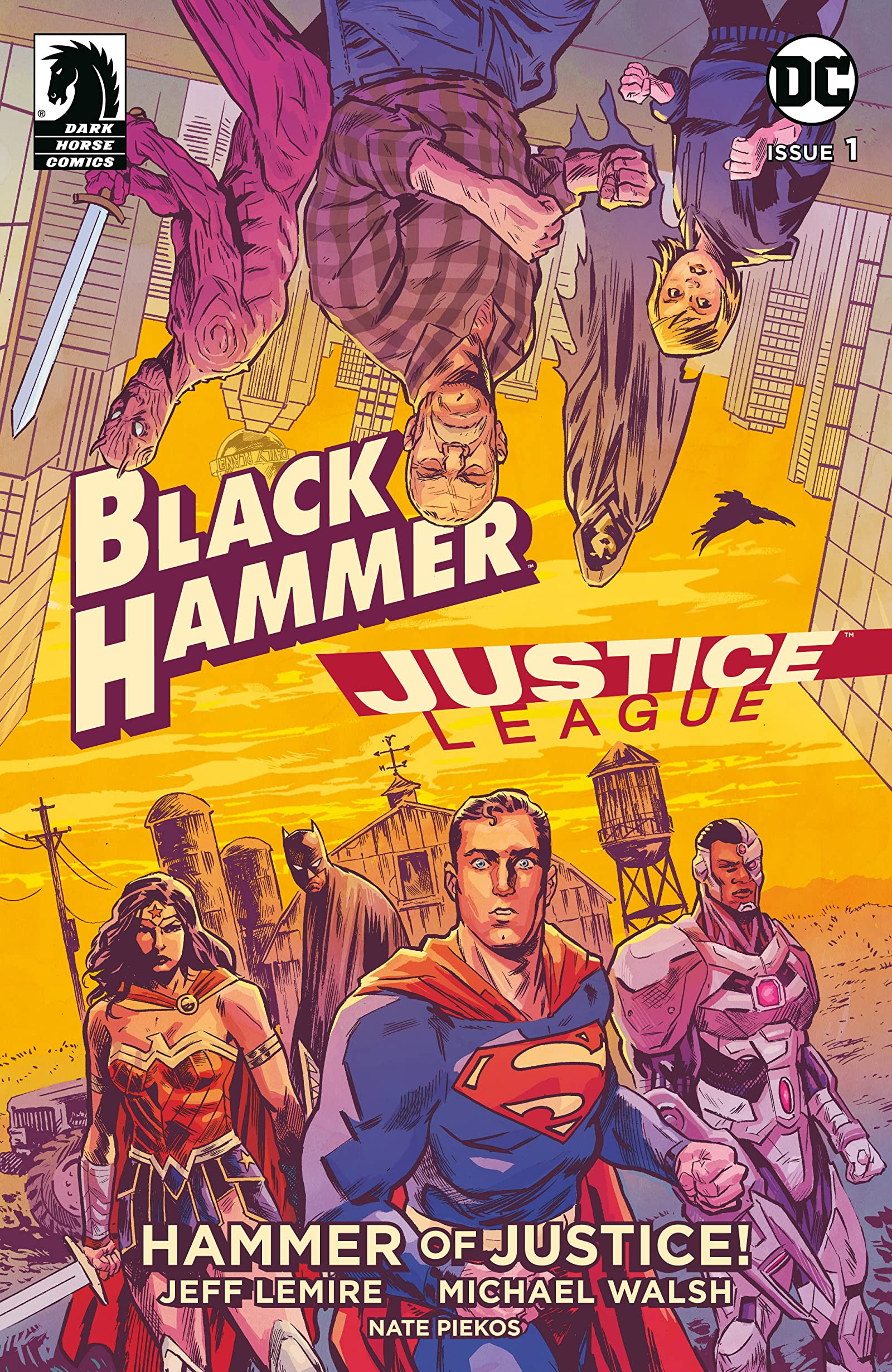 BLACK HAMMER/JUSTICE LEAGUE: HAMMER OF JUSTICE (MS 5)