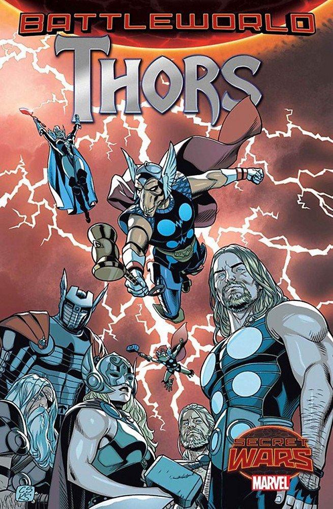 Thors BATTLEWORLDS (2015) MS 4