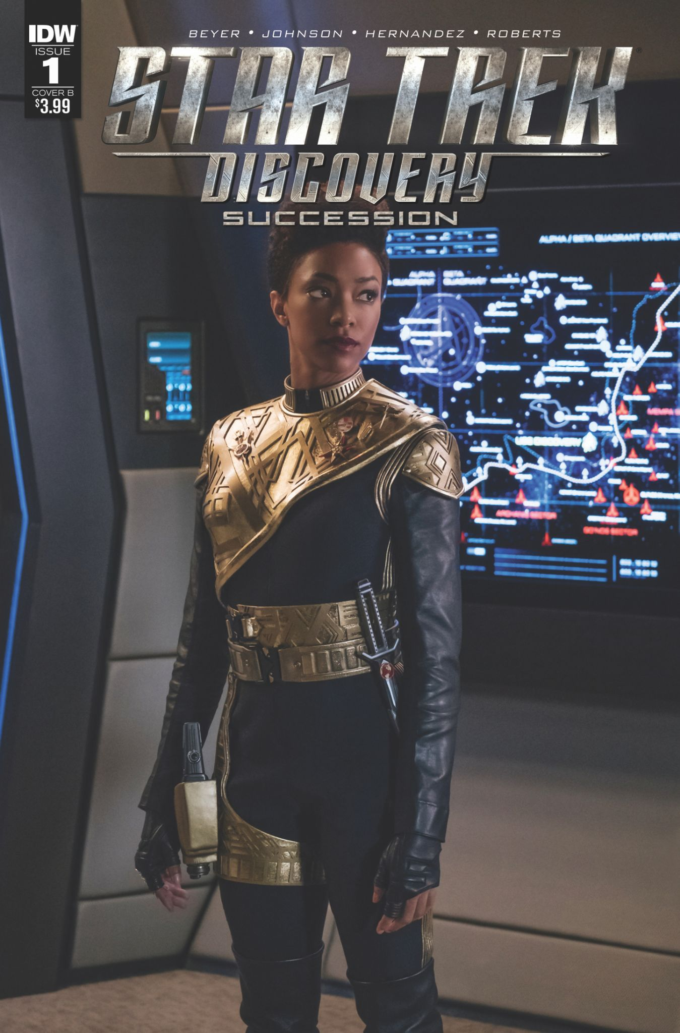 STAR TREK DISCOVERY: SUCCESSION (MS 4)