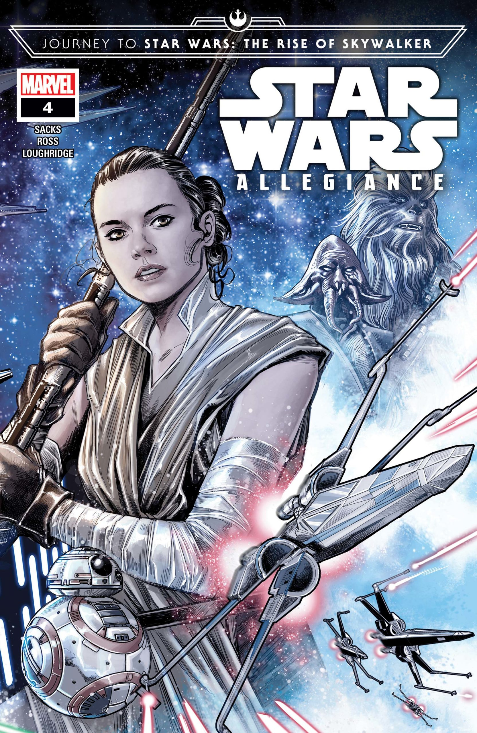 JOURNEY TO STAR WARS: THE RISE OF SKYWALKER – ALLEGIANCE (MS 4)
