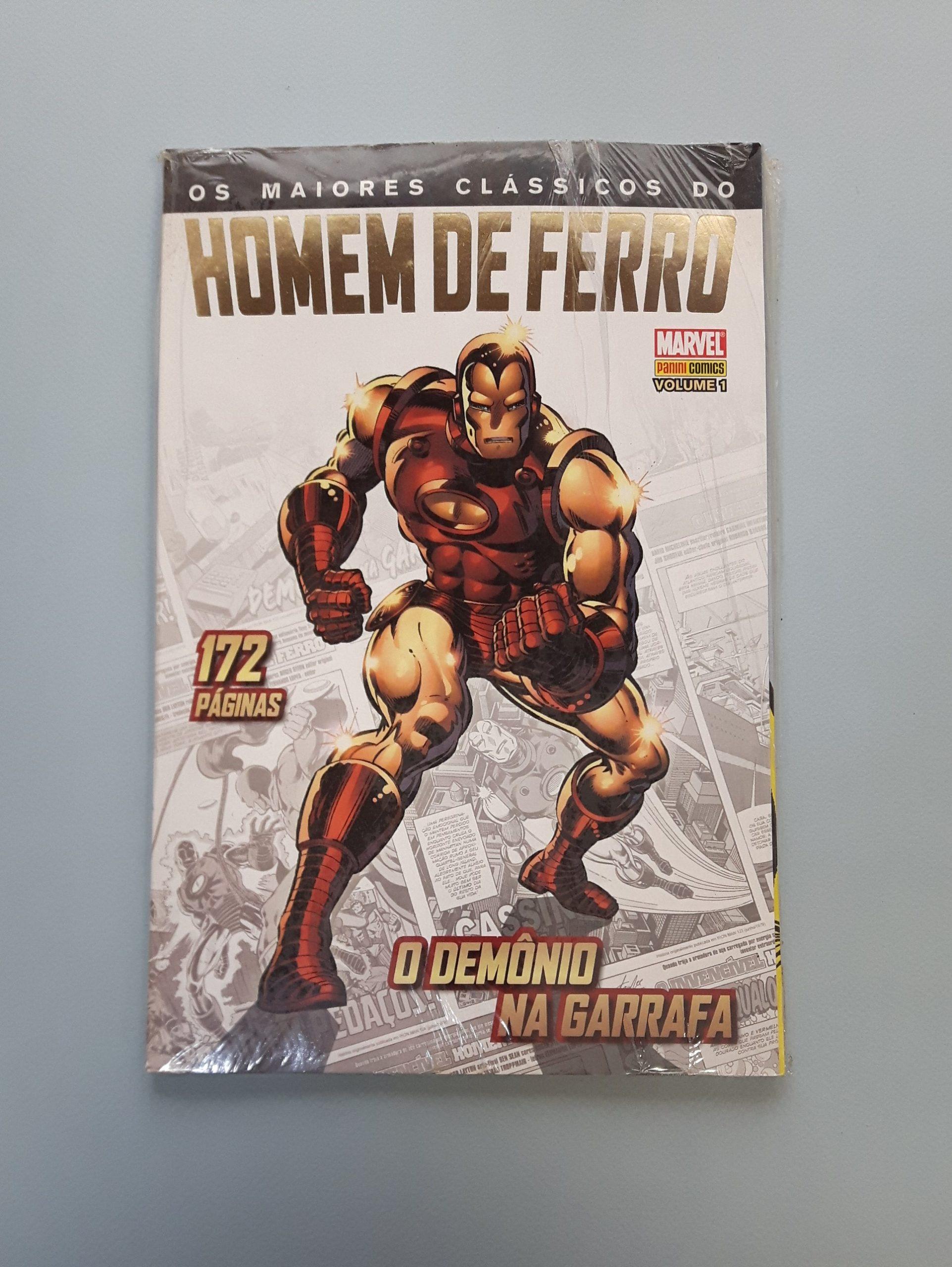 OS MAIORES CLÁSSICOS DO HOMEM DE FERRO