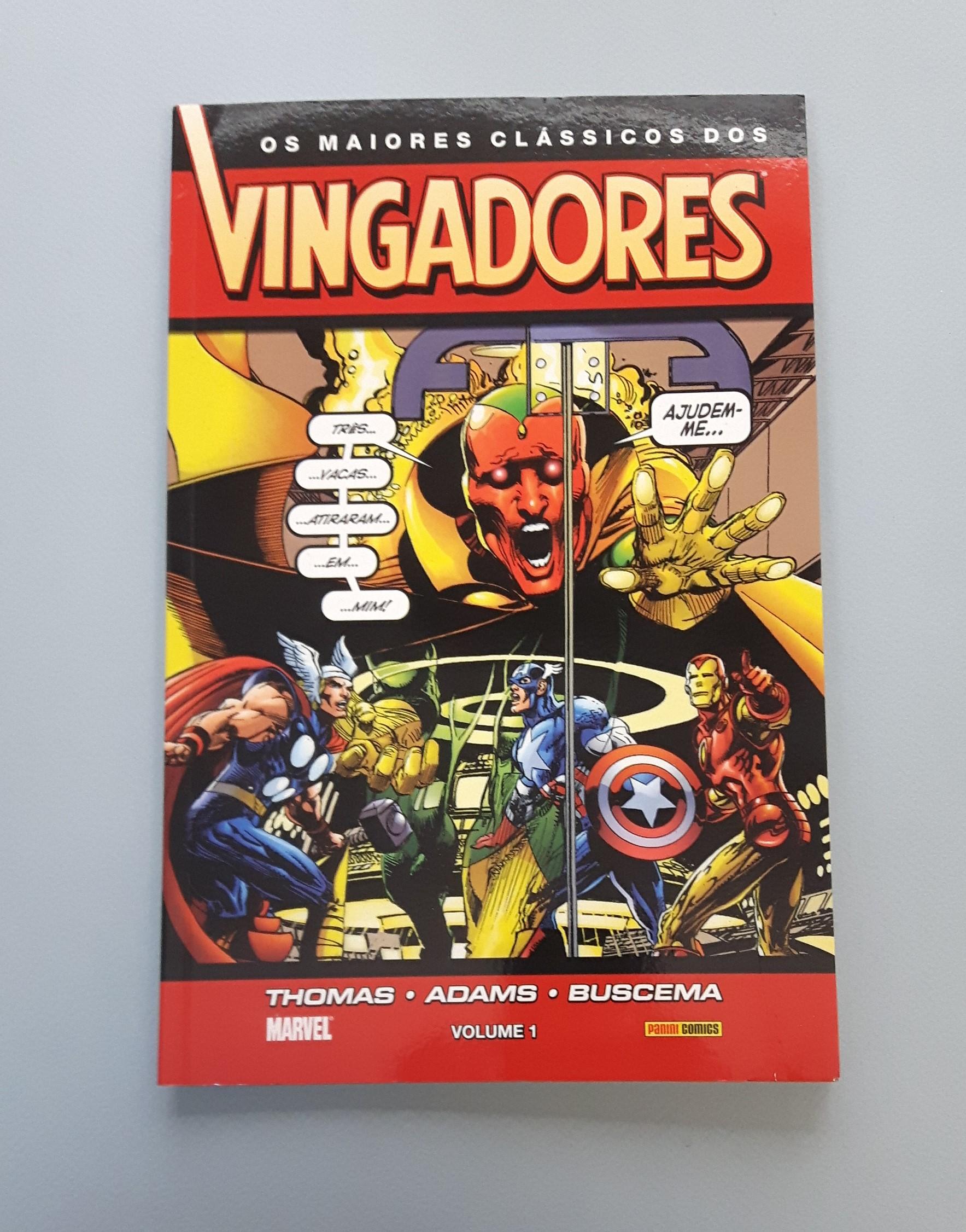 OS MAIORES CLÁSSICOS DOS VINGADORES #1
