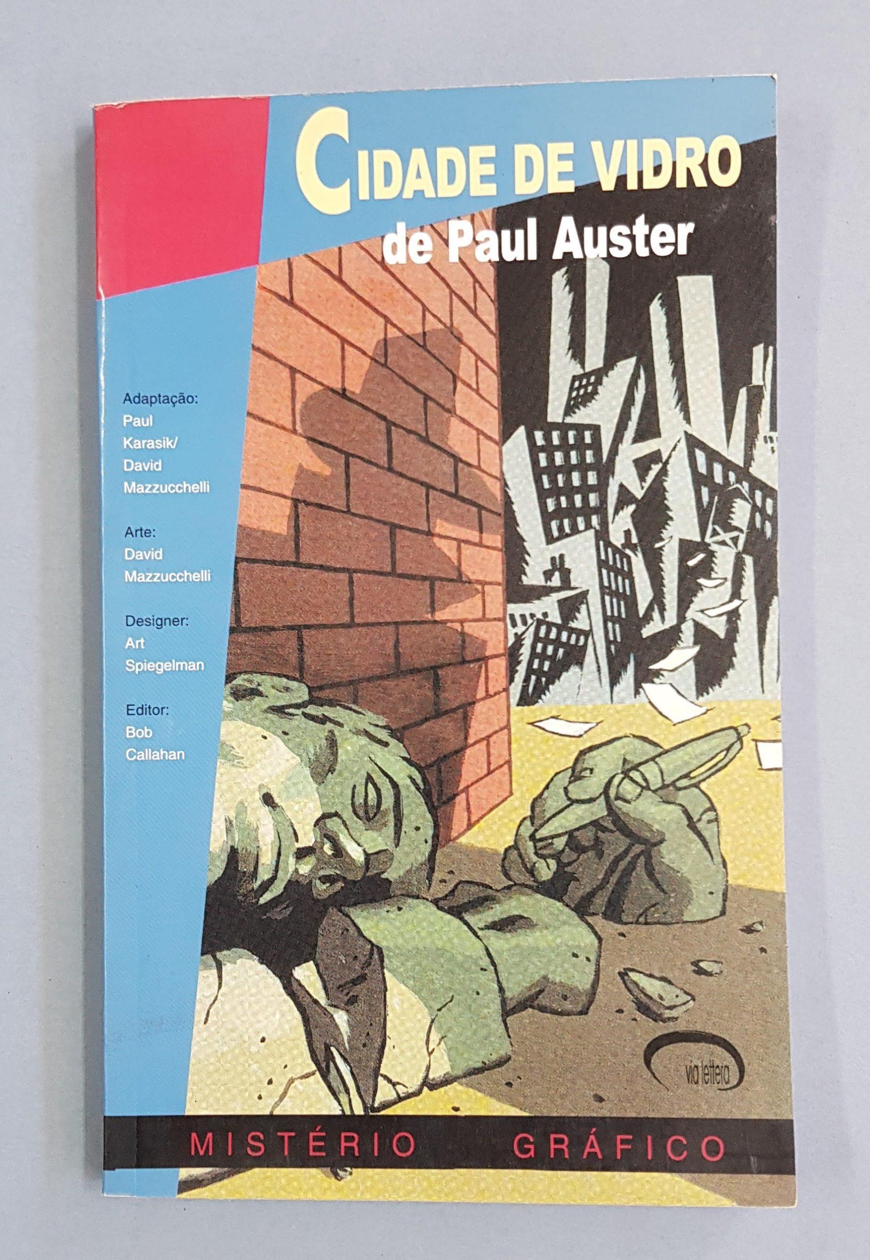 CIDADE DE VIDRO (PAUL AUSTER)
