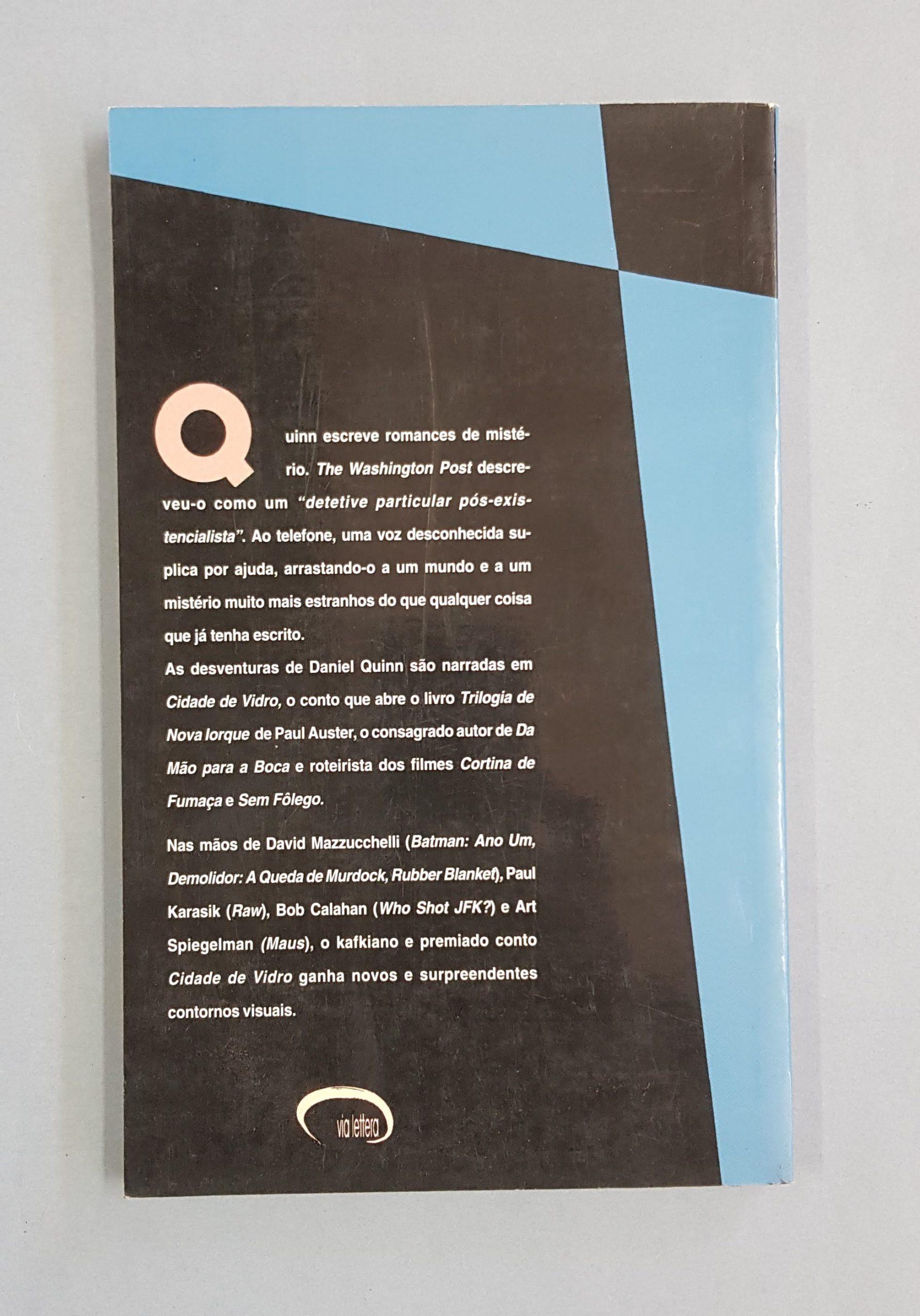 Cidade de Vidro – Paul Auster
