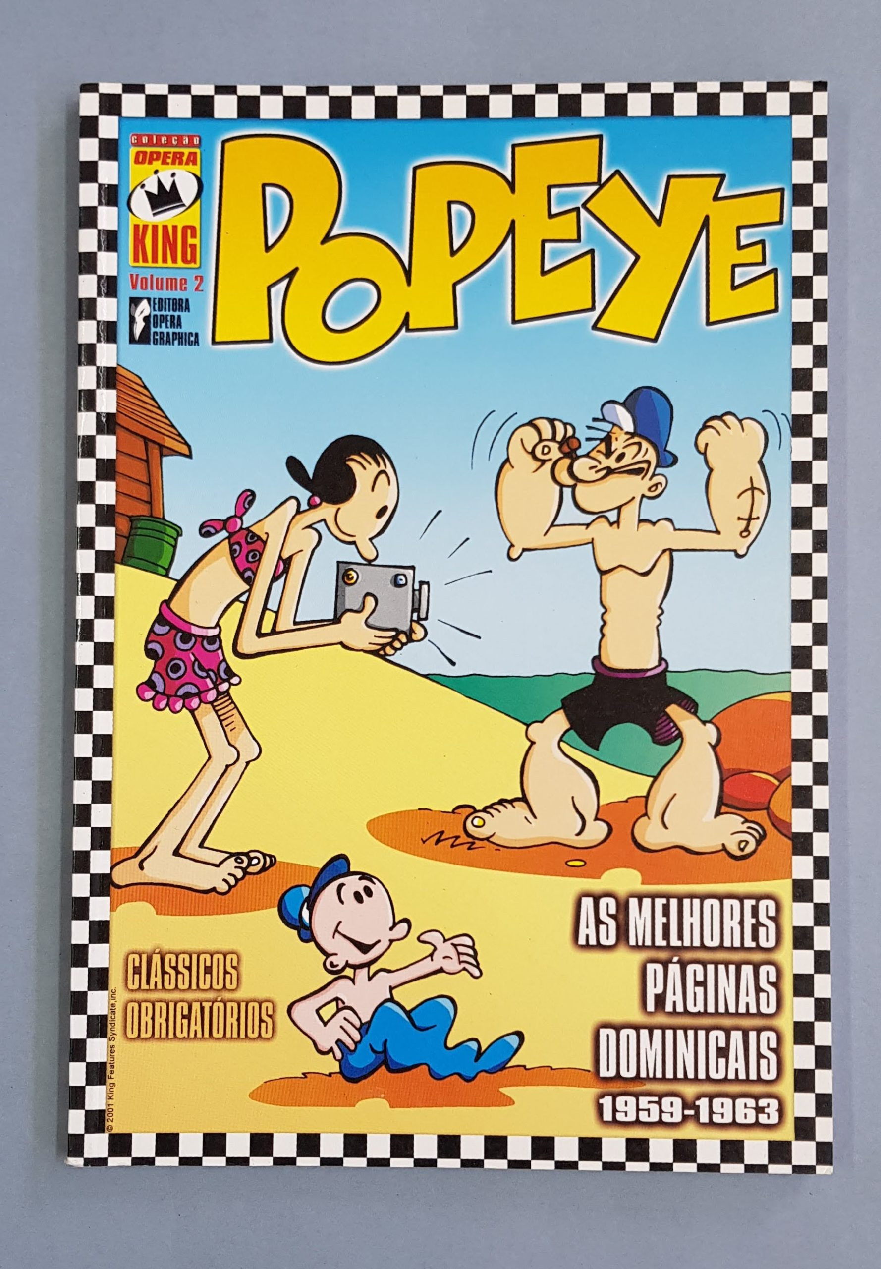 Colecção Ópera King – Popeye