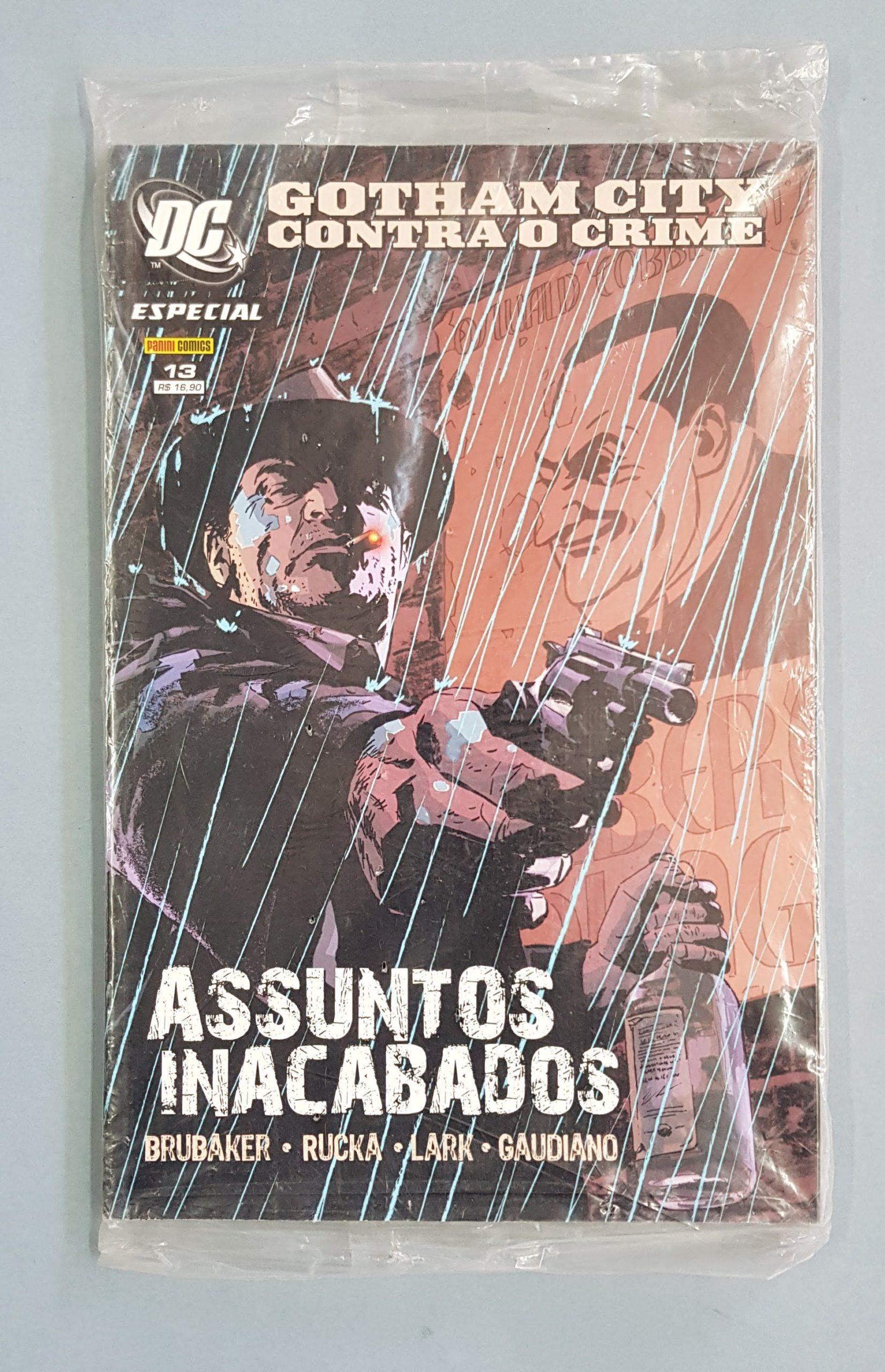DC ESPECIAL – GOTHAM CITY CONTRA O CRIME – ASSUNTOS INACABADOS
