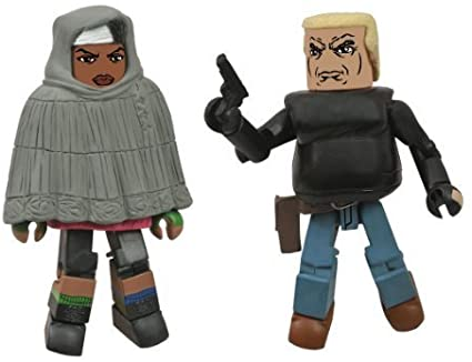 WALKING DEAD MINIMATES SER 4 ASST HOODED MICHONNE/GABE
