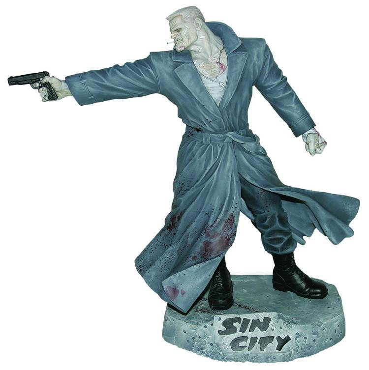 DF FRANK MILLERS SIN CITY MARV 12 INCH STATUE