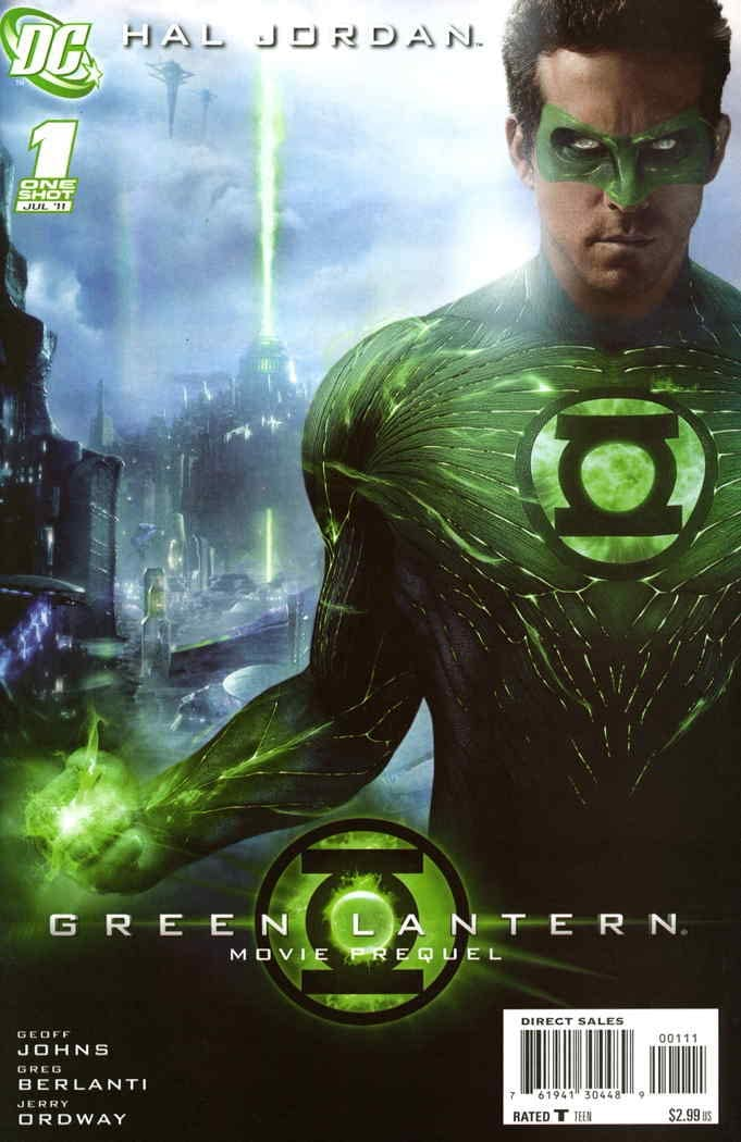 GREEN LANTERN MOVIE PREQUEL (MS 5)