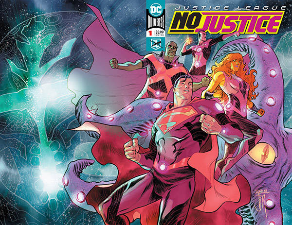 JUSTICE LEAGUE NO JUSTICE (MS 4)