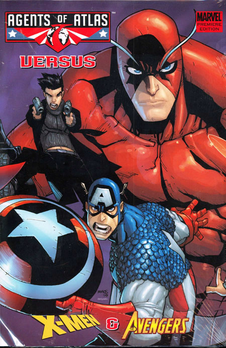 AGENTS OF ATLAS VS PREM HC AVENGERS COVER