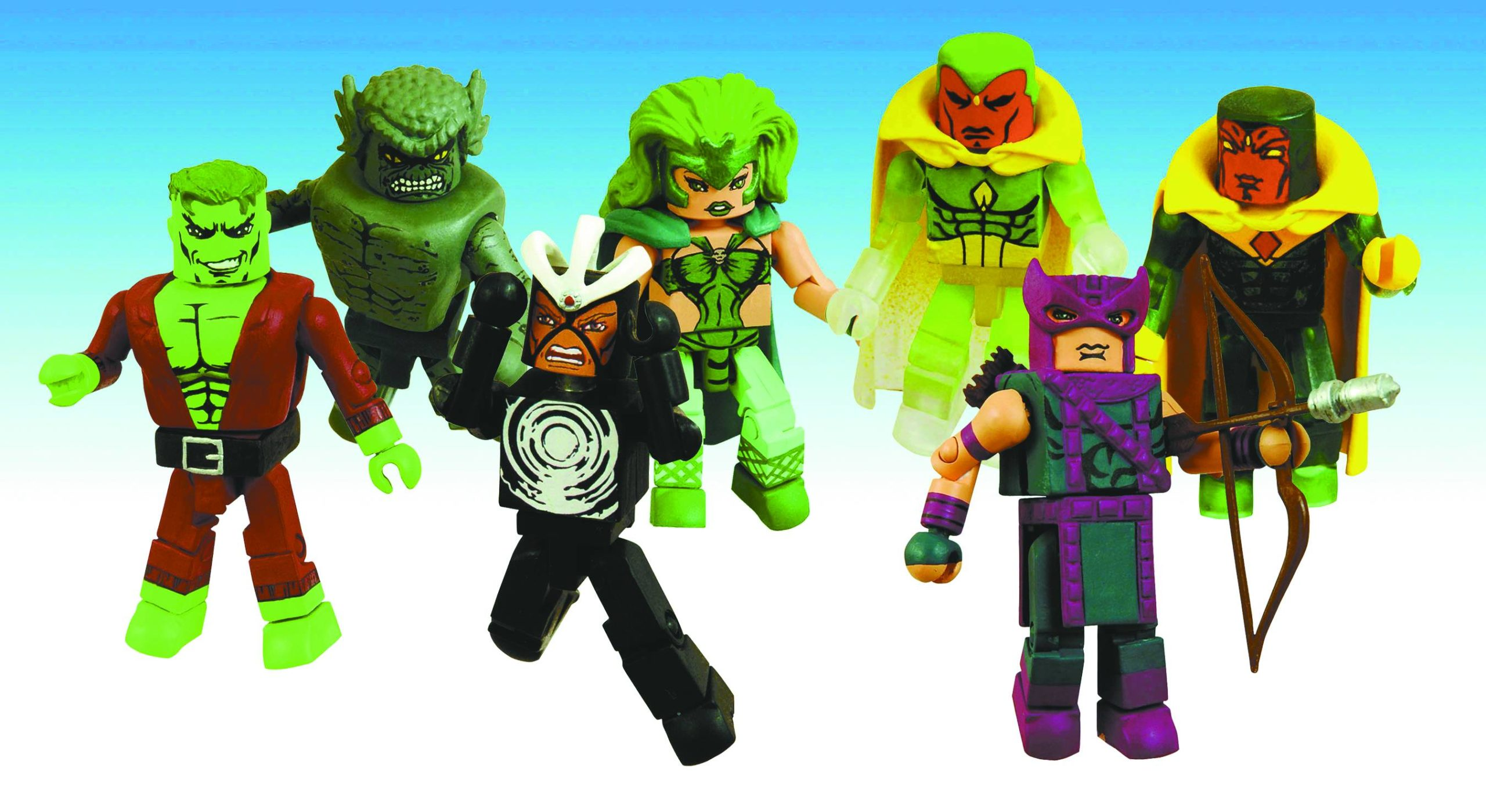 MARVEL MINIMATES 2-PK SER 20 ASST HAVOK & POLARIS