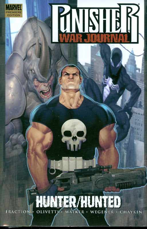 PUNISHER WAR JOURNAL PREM HC VOL 03 HUNTER HUNTED