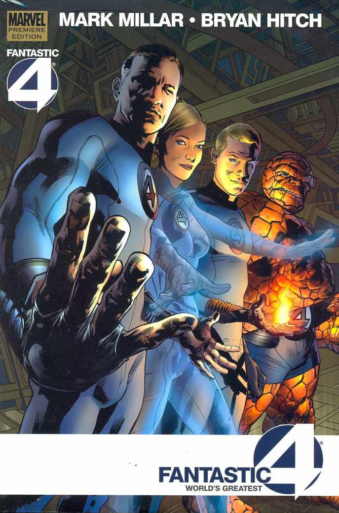 FANTASTIC FOUR WORLDS GREATEST PREM HC