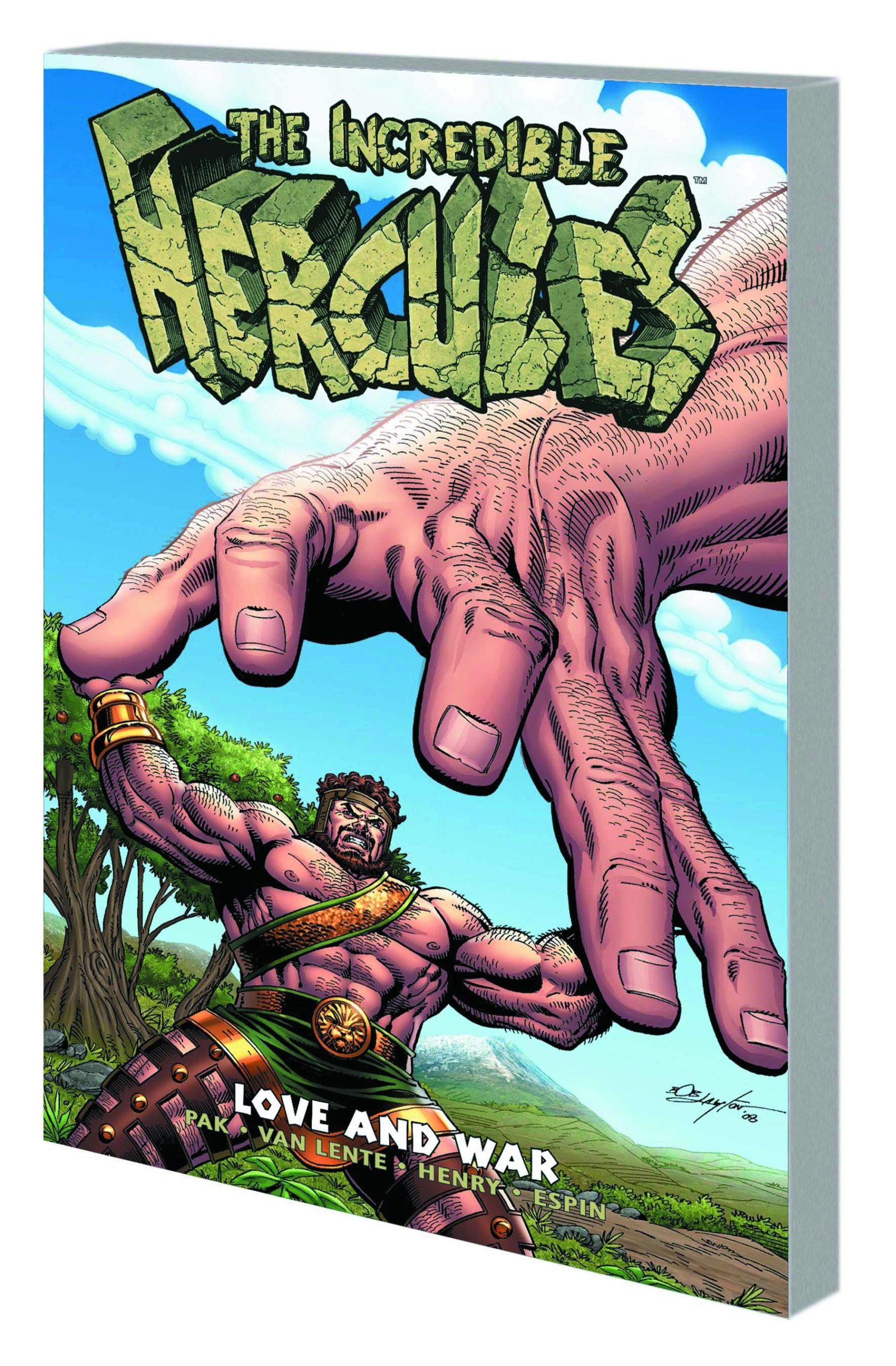INCREDIBLE HERCULES PREM HC LOVE & WAR
