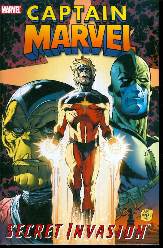 CAPTAIN MARVEL PREM HC SECRET INVASION