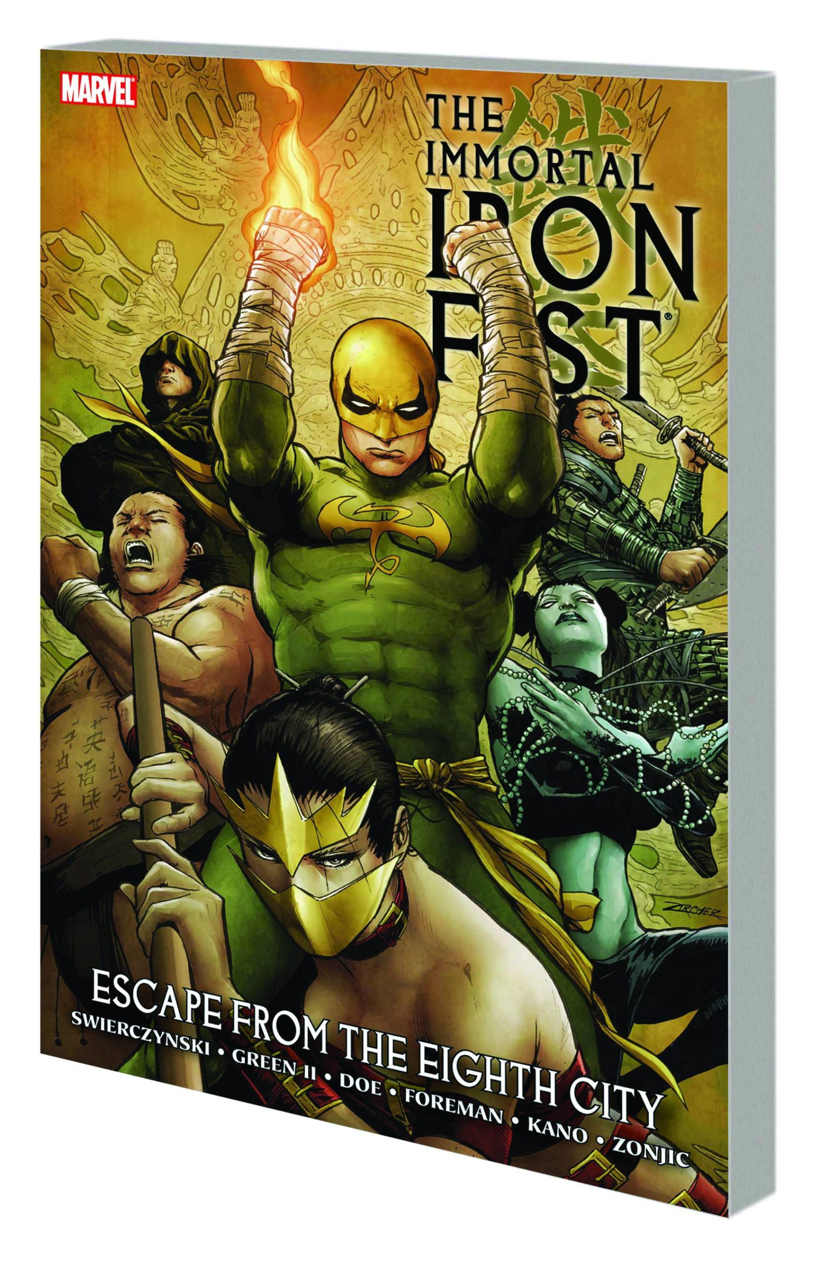 IMMORTAL IRON FIST PREM HC VOL 05 ESCAPE FROM EIGHTH CITY