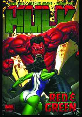 HULK PREM HC VOL 02 RED & GREEN CHO CVR DM ED