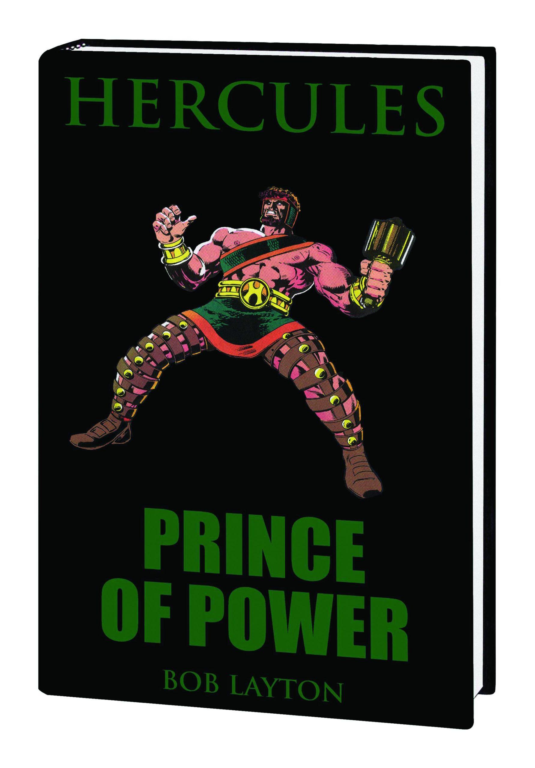 HERCULES PRINCE OF POWER PREM HC