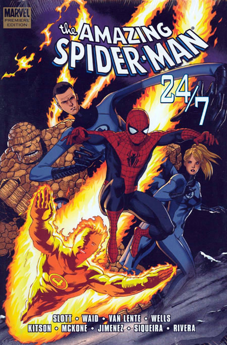 SPIDER-MAN 24-7 PREM HC