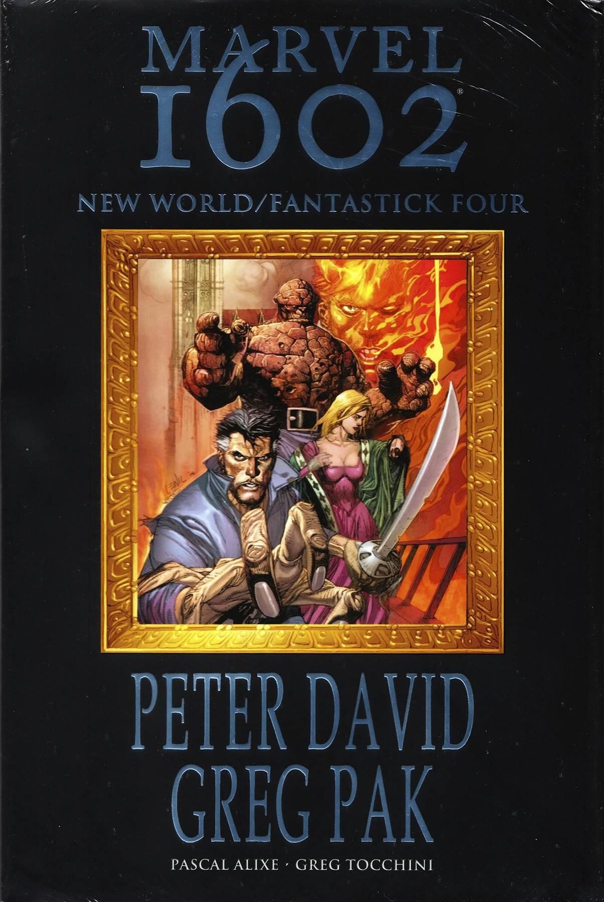 MARVEL 1602 PREM HC NEW WORLD FANTASTICK FOUR