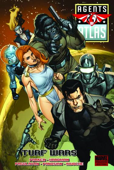 AGENTS OF ATLAS TURF WARS PREM HC