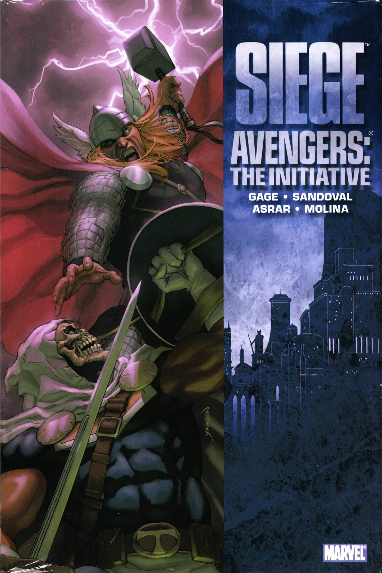 SIEGE AVENGERS INITIATIVE PREM HC
