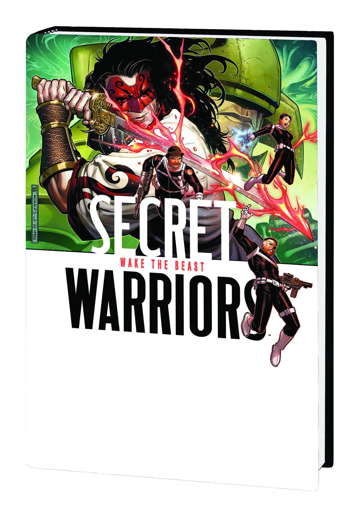 SECRET WARRIORS PREM HC VOL 03 WAKE BEAST
