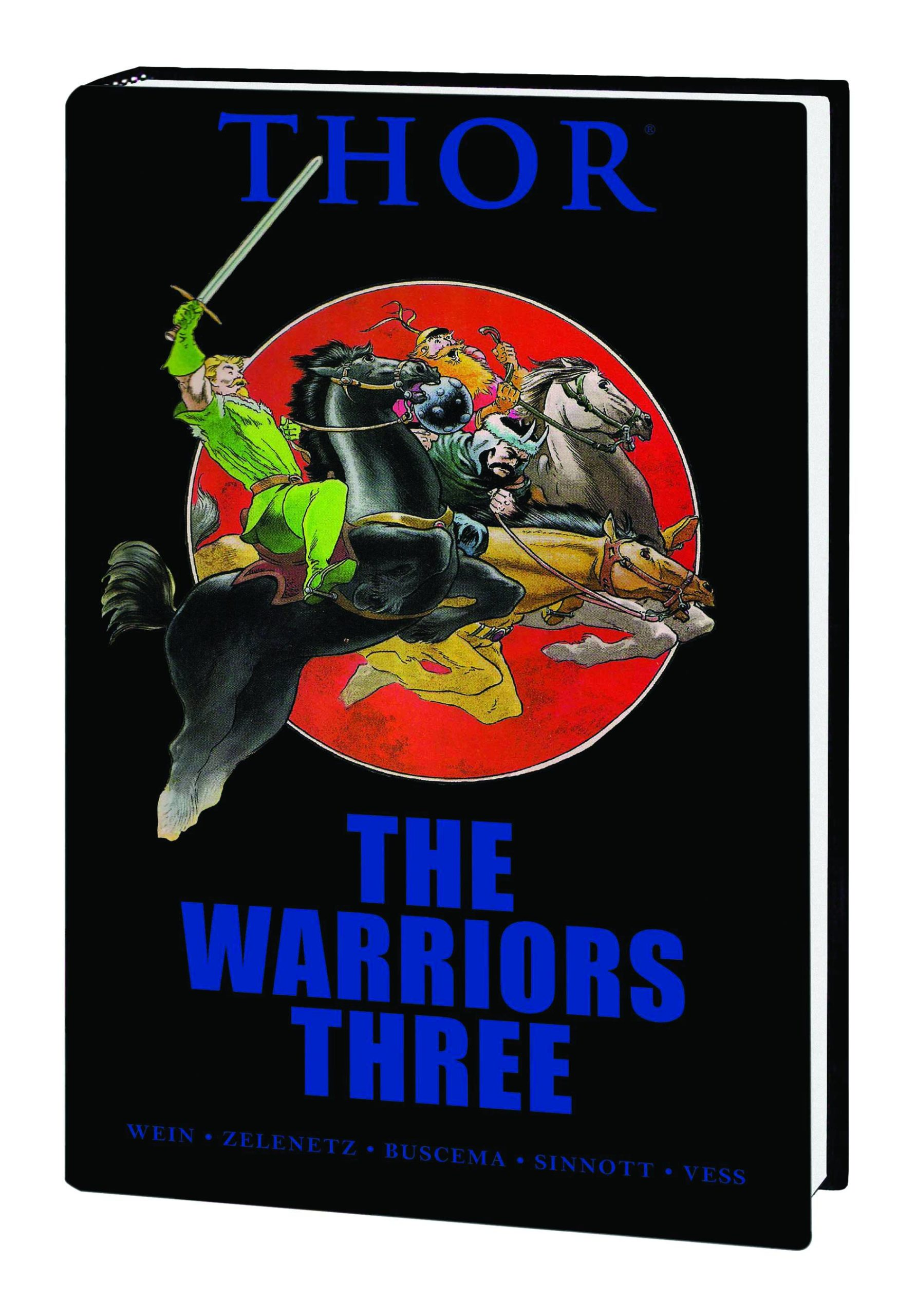 THOR WARRIORS THREE PREM HC