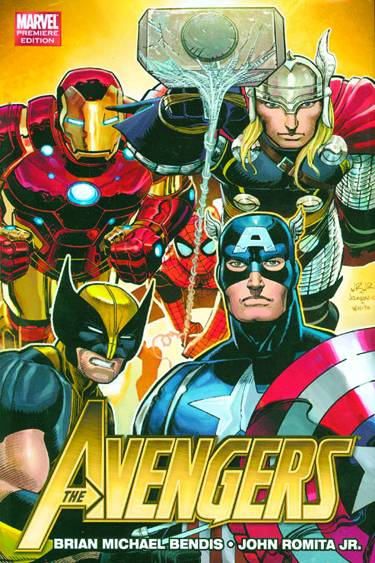 AVENGERS BY BRIAN MICHAEL BENDIS PREM HC VOL 01