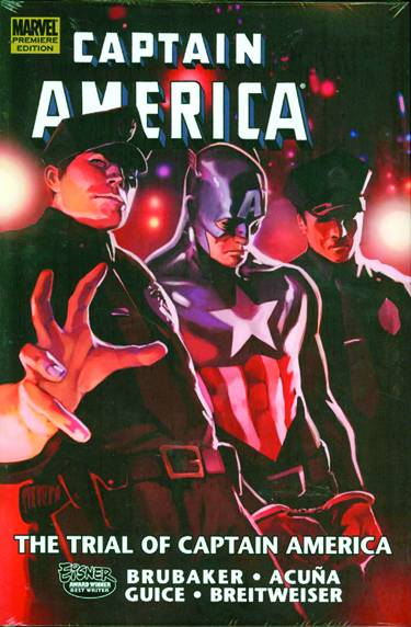 CAPTAIN AMERICA TRIAL OF CAPTAIN AMERICA PREM HC
